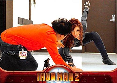 Scarlett Johansson trading card Iron Man 2 2010 Upper Deck #62 Natasha Romanoff