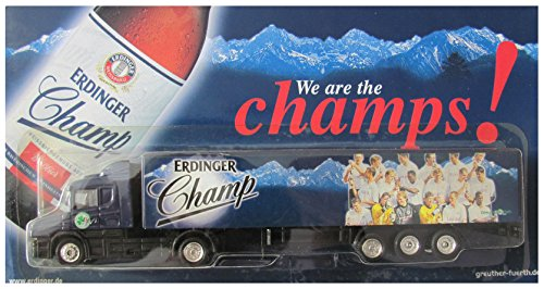 Erdinger Nr.17 Champs - Spielvereinigung Greuther Fürth - Scania 124L 400 - Sattelzug