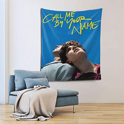 BROOKE PATEL Timothee Chalamet Call Me by Your Name Tapestry Colorful Art Tapestry Wall Hanging for Home Decoration Bedroom Living Room Decor 60 X 51 Inches