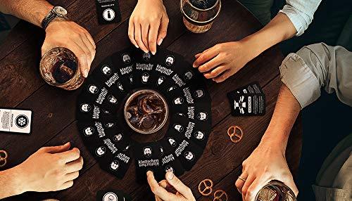 """klattschen – Trinkspiel – Das wahrscheinlich beste Trinkspiel aller Zeiten – Partyspiel – Spiel für Erwachsene – Saufspiel und Geschenkidee zum Geburtstag – ähnlich wie """"Kings Cup"""" oder """"Ring of Fire"""" - 5"""