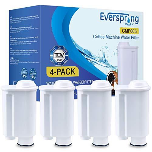 Kaffeemaschine Wasserfilter Ersatz für Saeco CA6702/00 CA6702/10 CA6706/48 brita intenza+ Saeco wasserfilter Philipps 4 Stück von everspring
