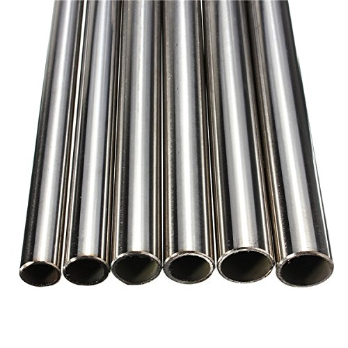 30 cm 304 Stainless Steel Capillary Tubing Pack of 2 Length 12 Tube Out Diameter OD 0.5 mm