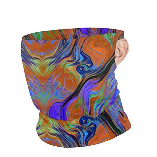 Lava-Lampe, winddicht, mit Ohrschlaufen, multifunktionale Kopfbedeckung für Männer und Frauen