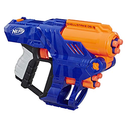 Hasbro Nerf Elite Shellstrike DS 6, Multicolore