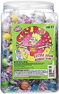 世界一すっぱいガム Cry Baby Extra Sour Bubble Gum 240個入り海外直送