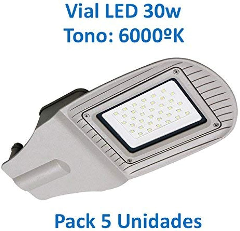 Im Straenverkehr LED 30W 6000oK [Pack 5Stück]