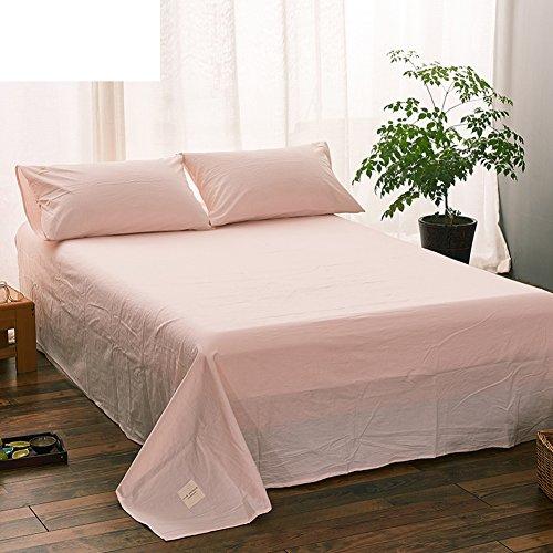 qwert Reine Baumwoll-bettwäsche Minimalistische Fashion Sheets Karo-blätter Schlafzimmer-blätter-L 200x230cm(79x91inch)