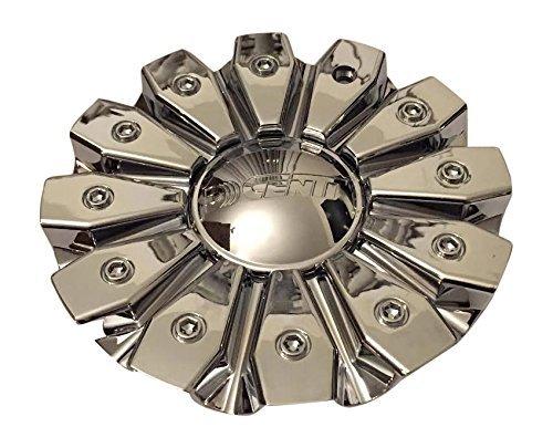 Dcenti Wheels CSDW8-1P CCDW1-2P SJ129-10 All Chrome Logo Center Cap