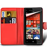 MobiBax For HTC Desire 650 Prime PU Leather Wallet Flip
