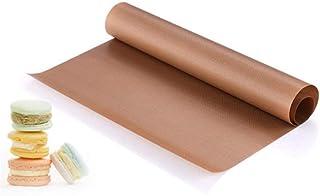 LLAAIT Tapis de Presse à Chaud en téflon Tapis de Cuisson réutilisable Feuille d'artisanat antiadhésive Résistant à la Cha...