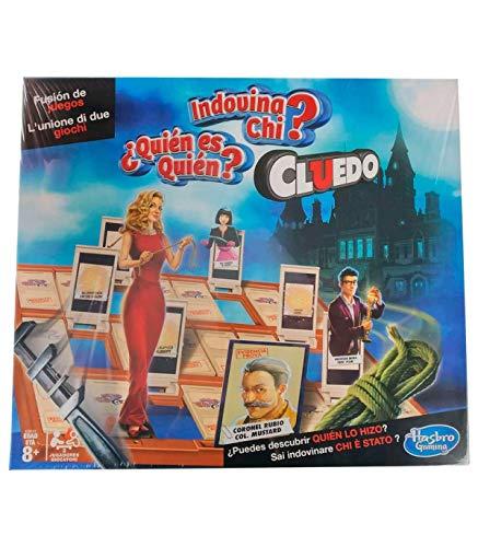 Hasbro Juego Cluedo Quien es Quien