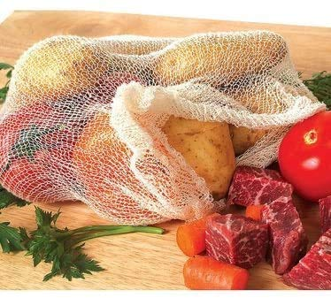 """CM 24"""" 100% Cotton Soup Bags For Making Soup Stock 10ct (20)"""