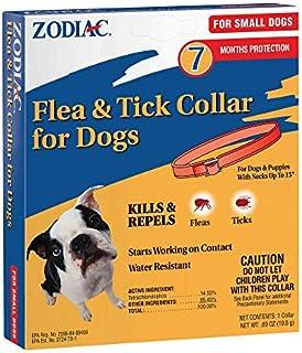 Zodiac Flea and Tick Collar for Small Dogs, 15 inch