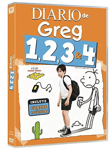 Diario De Greg 1-4 [DVD]