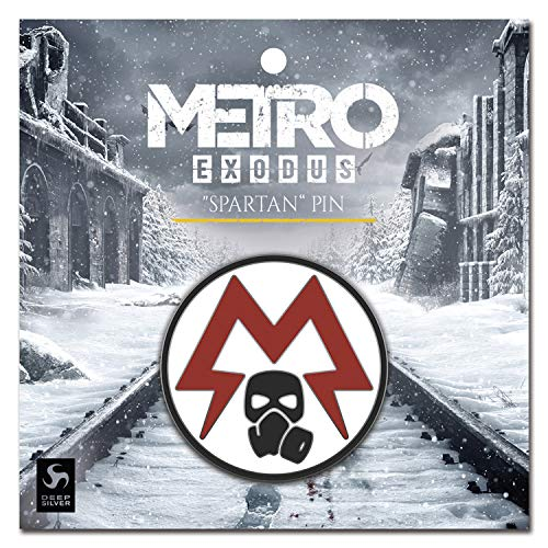 Gaya Entertainment Metro Exodus Pin Spartan Logo