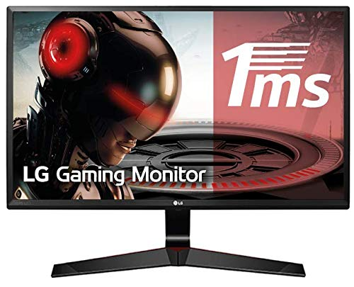 "LG 27MP59G-P - Monitor Gaming FHD de 68,6 cm (27"") con Panel IPS (1920 x 1080 píxeles, 16:9, 1 ms con MBR, 75Hz, 250 cd/m², 1000:1, sRGB >99%) Color Negro"