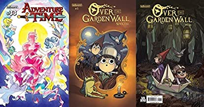 Over the Garden Wall Premiere SET: Adventure Time #33 CVR A, Over the Garden Wall Special (One-Shot) CVR A and Over the Garden Wall #1 Piestch 1:10 RI Variant