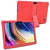 KATUMO Tablet 10.1 Pulgadas Universal Funda Silicona Compatible con Dragon Touch K10, Winsing 10, YELLYOUTH 10.1, Notepad K10, Victbing 10, LNMBBS 10 Android Tablet Funda de Goma Anticaida