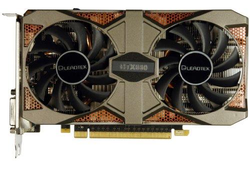 GeForce Grafikkarte (Nvidia GTX660 2 GB, GDDR5, PCI Express 3.0 x16, Verkaufsverpackung-DVI-I, DVI-D, HDMI, DisplayPort, 3 Jahre Garantie-GTX 660 LEADTEK