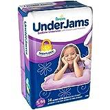 Pampers UnderJams Bedtime Underwear Girls, Size S/M, 14 ct