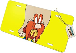 Graphics and More Looney Tunes Yosemite Sam Novelty Metal Vanity Tag License Plate
