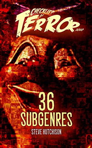 Checklist of Terror 2020: 36 Subgenres (Checklist of Terror 2020: Classified Book 1) (English Edition)