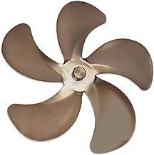 Nobranded Hoja del Ventilador de la Estufa, 5 Cuchillas de Repuesto para el Ventilador de la Estufa Ventilador de energía térmica para quemadores de - de Cobre