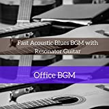 Fast Acoustic Blues BGM with Resonator Guitar