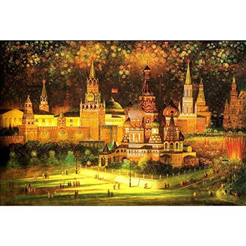 Puzzel Voor Volwassenen, 100/1500 Stukjes Houten Puzzel, Kerstnacht, De Beste Kerstcadeau-decoratie Voor Educatief Speelgoed Voor Volwassen Kinderen -4.9 (Size : 1500 pieces)