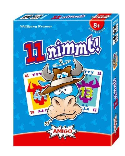 Amigo Spiel + Freizeit - Juego de cartas, de 2 a 7 jugadores [importado de Alemania]
