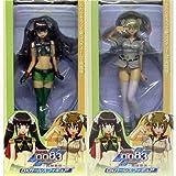 機動戦士ガンダム 0083カードビルダーDXガールズフィギュア 全2種セット