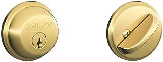SCHLAGE Lock CO B60N505 Single Cylinder Deadbolt Door Lock