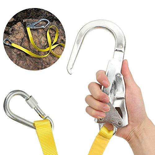 Klettergurt Sicherheitsgurt Kletter Ausrüstung Klettern Harness Camping Ascending Decive Schultergürtel Verstellbare Sicherheitsgurte Für Die Brust Klettergurte Sicherheitsschutz Überleben