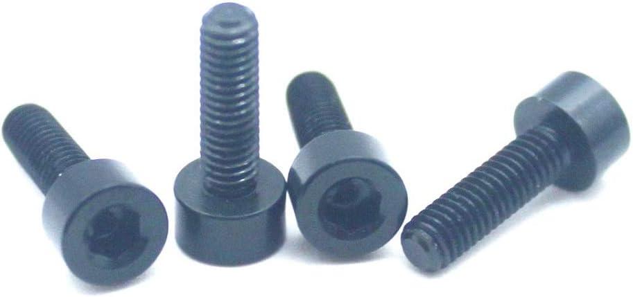Free shipping 20pcs M3 Screws 7075 Aluminum Hex Cap Socket Alloy Allen Max 72% OFF