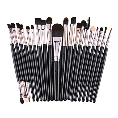 Makeup Brush 1Set Luxury Champagne for Foundation Powder Blush Eyeshadow Concealer Lip Eye Makeup Brushes Cosmetics Beauty Tools