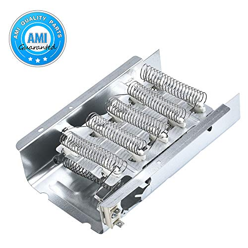 279838 Dryer Heating Element Assembly Replacement Part by AMI PARTS - Compatible with Whirlpool & Kenmore Electric Dryers - Replaces EXP279838 AP3094254 279837 279838VP 3398064 3403585 8565582 AH33431