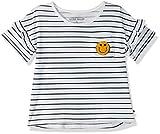 Lucky Brand Little Girls' Short Sleeve Fashion Top, Susanna White, 6
