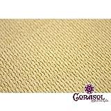 Corasol COR10RA36-SB Premium Sonnensegel 3,6 x 3,6 x 5 m, 90 Grad Dreieck, sandbeige - 9