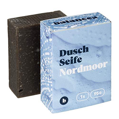 BALANCEA Seife Nordmoor/Haarseife Naturseife Duschseife / 1er Pack (1 x 95 g)