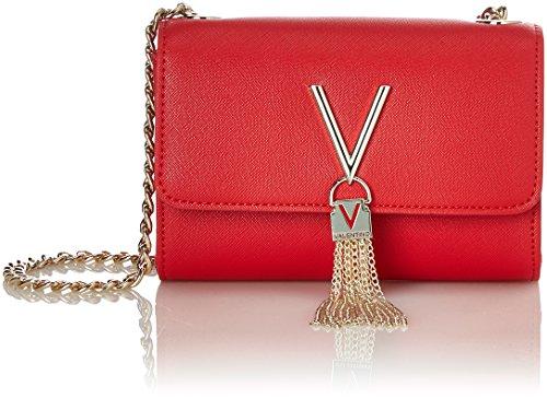 Valentino by Mario Divina Sa, Esquel. para Mujer, Rojo (Rosso), 4x11.5x17 Centimeters (B x H x T)