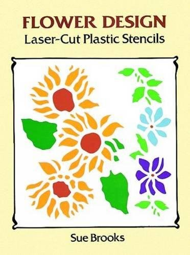 FLOWER DESIGN LASER-CUT PLASTI (Laser-Cut Stencils)