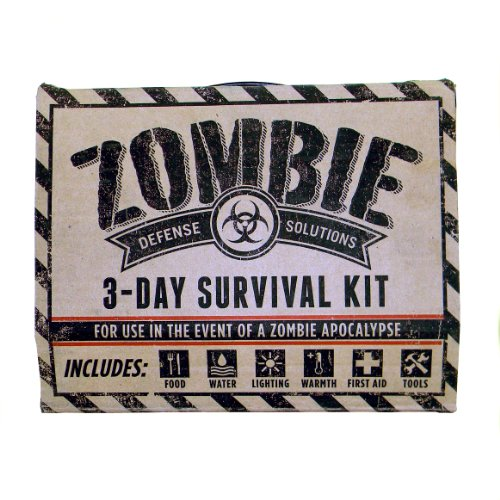 Zombie Defense Solutions 3 Day Survival Kit