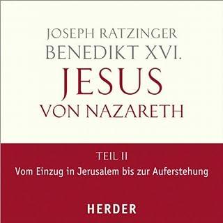 Jesus von Nazareth, Teil II Titelbild