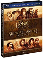 Lo Hobbit,Il Signore Degli Anelli (Box 6 Br) Trilogie Cinematografiche [Esclusiva Amazon]