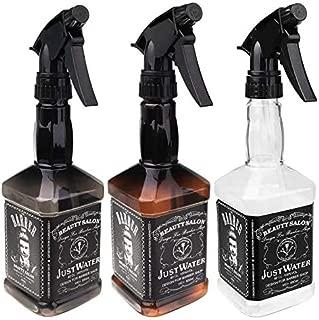 3pcs Empty Plastic Spray Bottle 150ml Hair Salon Barber Shop Spray Bottle Oil Sprayer Water Sprayer Bottle in Clear Brown Smoke Gray