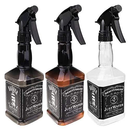 Amazon.com: 3 Pcs Empty Barber Water Spray Bottles Refillable 650ml/22 oz