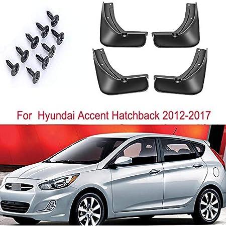 New Set Splash Guards Mud Guards Flaps FOR Hyundai 2011-2017 Accent Hatchback