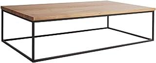 Marque Amazon -Alkove Hayes - Table basse au style contemporain, 110x70x35cm, Chêne sauvage à la finition huilée ave...