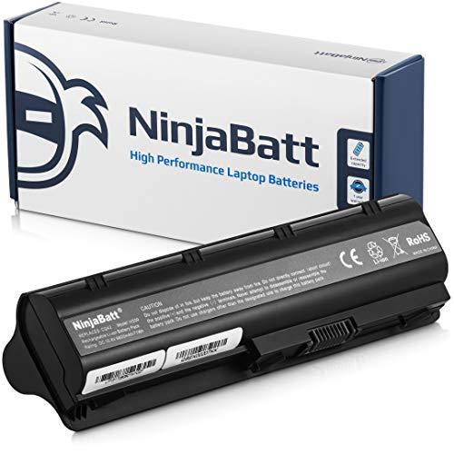 Ninjabatt 9 Celdas Batería para HP 593553-001 MU06 593554-001 CQ42 593562-001 Pavilion G6 G62 HSTNN-Q62C HSTNN-UB0W HSTNN-LB0W HSTNN-E08C HSTNN-DB0W HSTNN-LB0Y HSTNN-E09C CQ56 CQ57 [6600mAh/73wh]