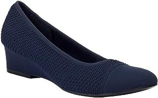 Garner Stretch Dress Wedge Shoe